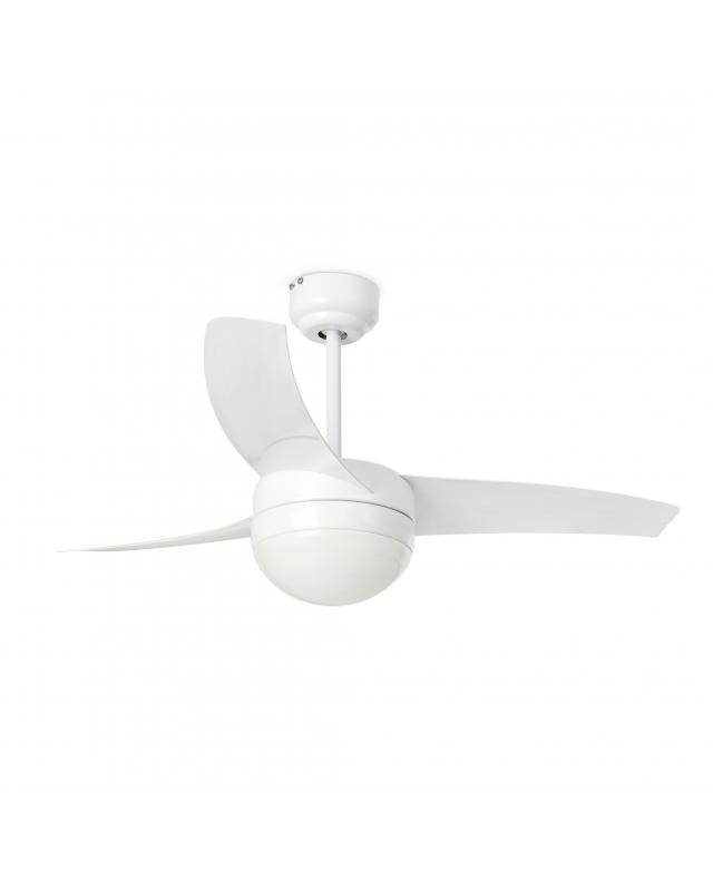 Ventilador Techo Easy con Luz Blanco Ø1050mm 33415 Faro
