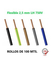 CABLE FLEXIBLE 2.5MM L.H....