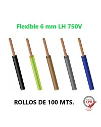 CABLE FLEXIBLE 6MM L.H....