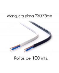 MANGUERA PLANA 2X0.75...
