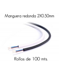 MANGUERA 2X0.5 H03VVH2-F...