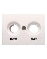 TAPA TOMA R/TV-SAT BLANCO...