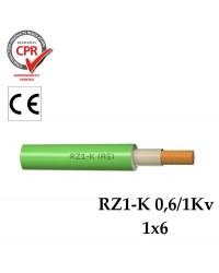 RZ1-K (AS) UNIPOLAR 1X6
